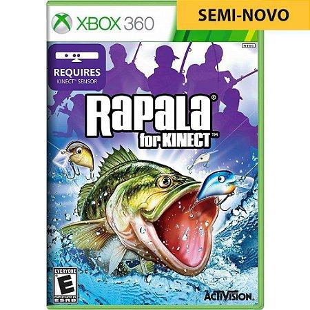 Jogo Rapala for Kinect Pesca - Xbox 360