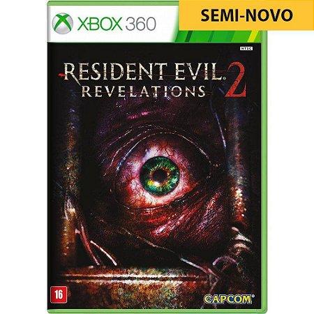 Jogo Resident Evil Revelations 2 - Xbox 360 (Seminovo)