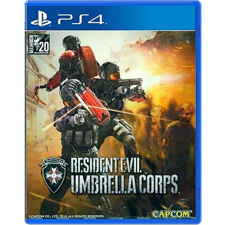 Jogo Resident Evil Umbrella Corps - PS4