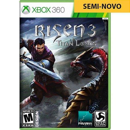 Jogo Risen 3 Titan Lords - Xbox 360 (Seminovo)