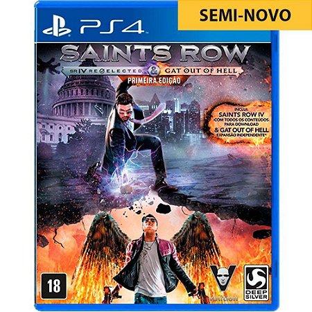 Jogo Saints Row IV Re Elected - PS4 (Seminovo)