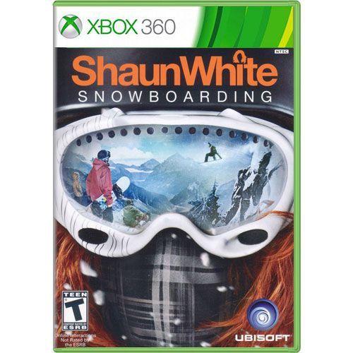 Jogo ShaunWhite Snowboarding - Xbox 360 (Seminovo)
