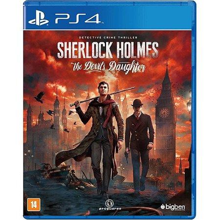 Jogo Sherlock Holmes The Devils Daughter - PS4