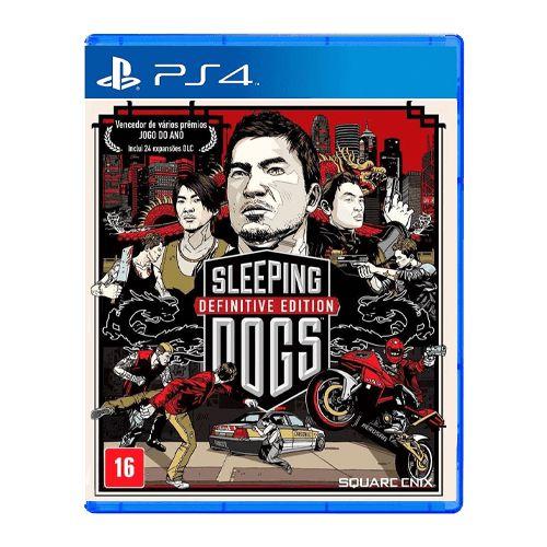 Jogo Sleeping Dogs Definitive Edition - PS4 (Seminovo)