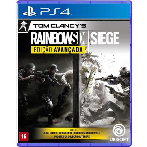 Jogo Tom Clancys Rainbow Six Siege Edição Avançada - PS4