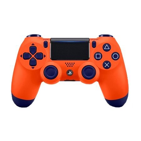 Controle DualShock 4 Sunset Orange - PS4