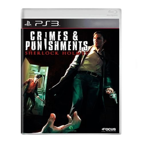 Jogo Crimes & Punishments Sherlock Holmes - PS3 (Seminovo)