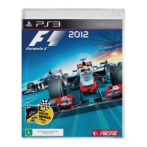 Jogo F1 2012 -  PS3 (Seminovo)