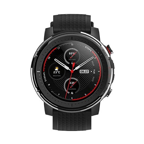 Relógio Xiaomi Amazfit Stratos 3 46mm GPS A1929 Preto
