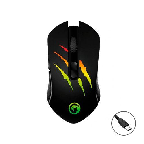 Mouse Gamer Marvo Solid Scorpion M425G RGB USB