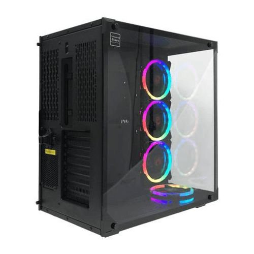 Gabinete Gamer Redragon Solid WideLoad GC802-1 Preto (Sem Fonte)