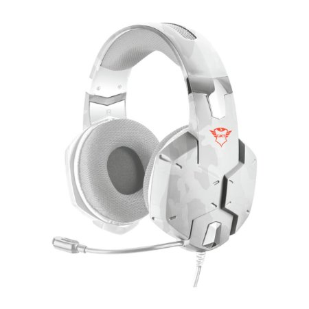 Headset Trust GXT 322W Carus White - PS4 / Xbox One / Switch / PC