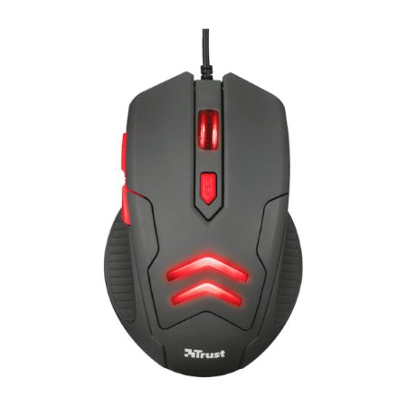 Mouse Trust Gamer Ziva + Mouse Pad