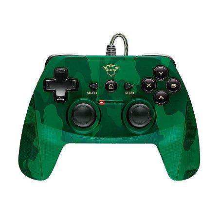 Controle Trust GXT 540C Yula Verde - PC/ Note/ PS3