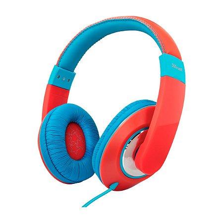 Headphone Trust For Kids Sonin Red/Blue - PC / Celular