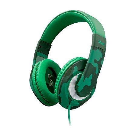 Headphone Trust For Kids Sonin Jungle Camo - PC / Celular