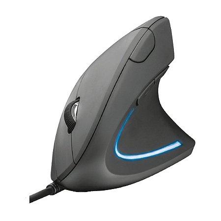 Mouse Trust  Ergonômico Verto 1000/1600 DPI LED