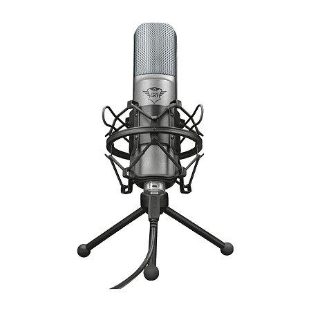 Microfone Trust GTX 242 Lance USB Tripé - PC / Note