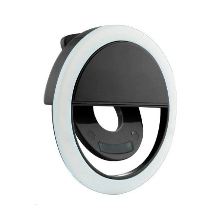 Iluminador LED SXZ Ring Light Selfie Clipe Celular