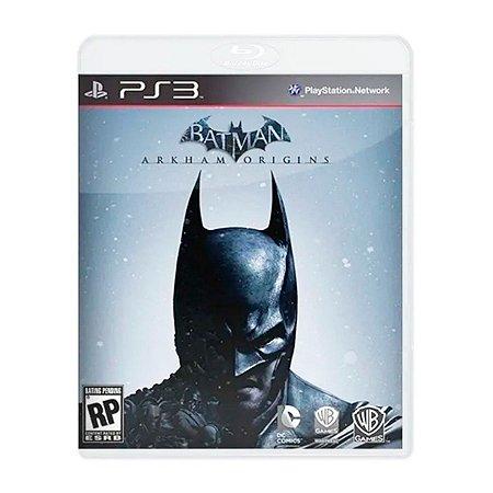 Jogo Batman Arkham Origins - PS3 (Seminovo)