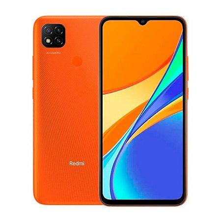 Smartphone Xiaomi Redmi 9C 32GB 2GB Sunrise Orange - NFC