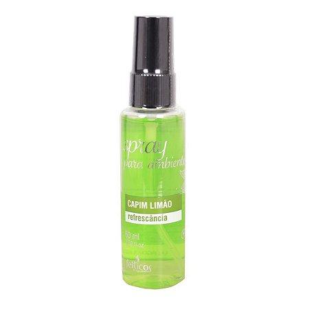 Ambientador Aromático Spray 60ml CAPIM LIMÃO - Sex shop