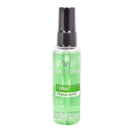 Ambientador Aromático Spray 60ml ERVAS - Sex shop