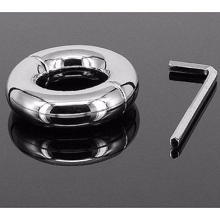 Anel Peniano Metálico Pênis Ring - Diametro de 4cm - Sex shop