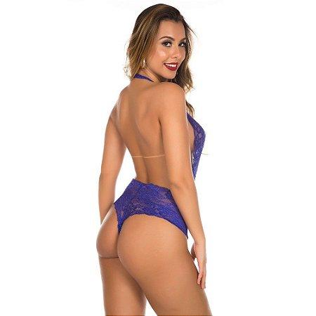 Body Sensual Claryssa Azul Pimenta Sexy - Sex shop
