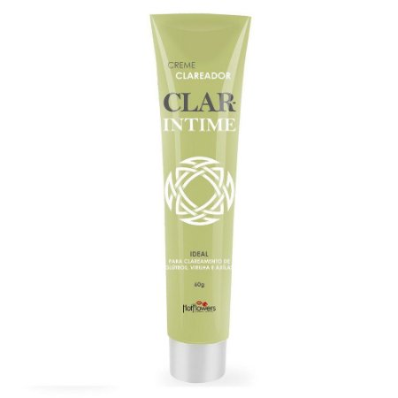Clar Intime Creme Clareador 60g HotFlowers - Sexy shop