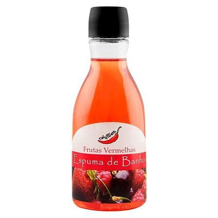Espuma de Banho 80ml Frutas Vermelhas Chillies - Sex shop