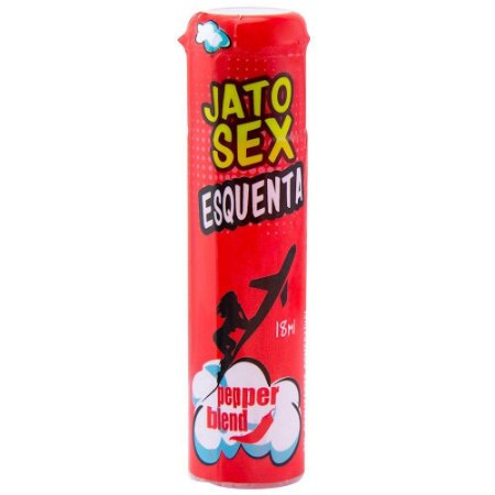 Excitante Esquenta Jato Sex 18ml Pepper Blend - Sex Shop