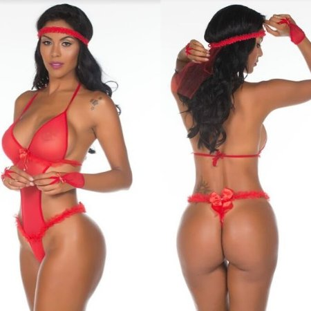 Fantasia Body Noiva Star Fogosa Pimenta Sexy - Sex shop