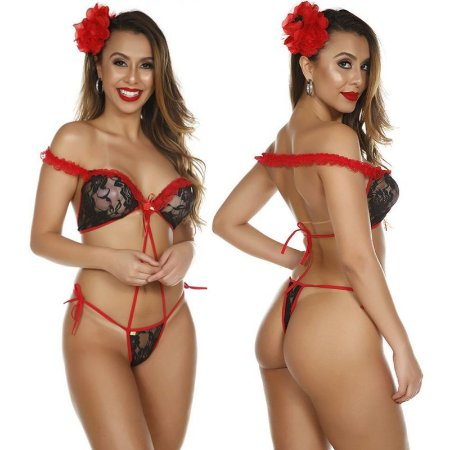 Fantasia Erotica Body Espanhola Pimenta Sexy