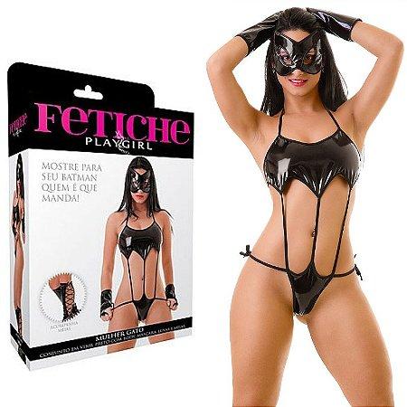Fantasia Mulher Gato Erótica - Sexshop