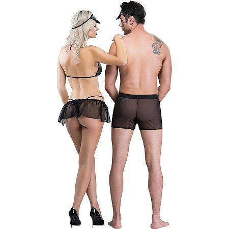 Fantasia Temática Casal Militar SexyFantasy - Sex shop