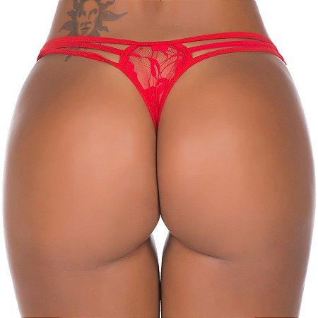 Fio Dental Lap Dance Pimenta Sexy Vermelha - Calcinha Sexy