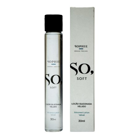 Gel Siliconado Veludo - So Soft 30ml - Sophie - Sexshop