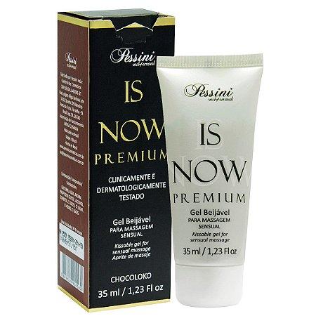 Is NOW! Premium Gel Quente Comestível CHOCOLOKO 35ml Pessini - Sex shop