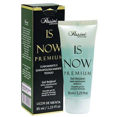 Is NOW! Premium Gel Quente Comestível LICOR DE MENTA 35ml Pessini - Sex shop