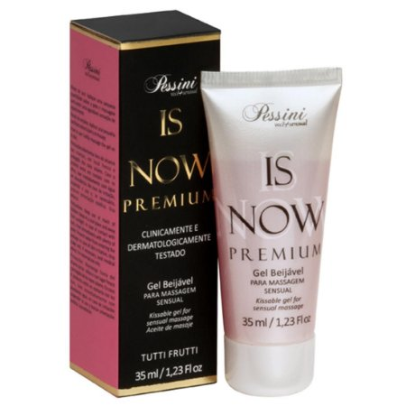 Is NOW! Premium Gel Quente Comestível Tutti-Frutti 35ml Pessini - Sex shop