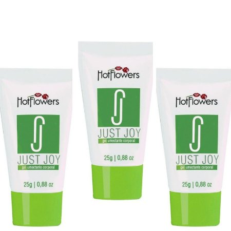 Kit 03 Anestésico Anal Just Hoy Gel Hot Flowers - Sexshop