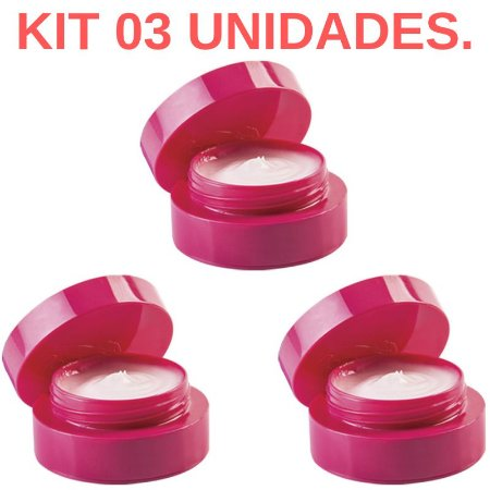Kit 03 Excitation, Excitante feminino Rosa 7gr HotFlowers - Sexshop
