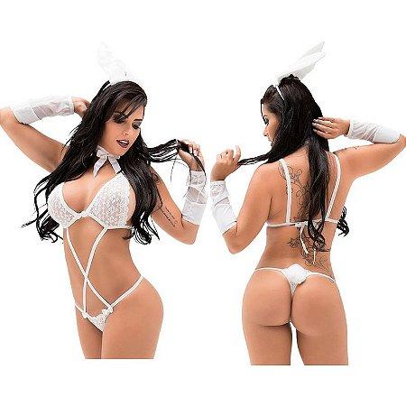 Kit Fantasia Coelha Juliana Sapeka - Sex shop