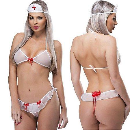 Kit Fantasia Desejos Enfermeira SexyFantasy - Sexshop