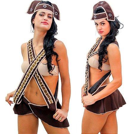 Kit Fantasia Diva Do Nordeste Sapeka - Sex shop