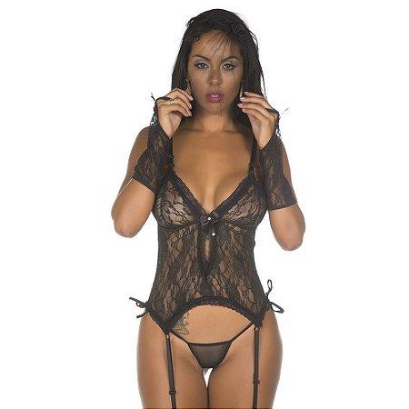 Kit Fantasia Viúva Body Pimenta Sexy - Sex shop