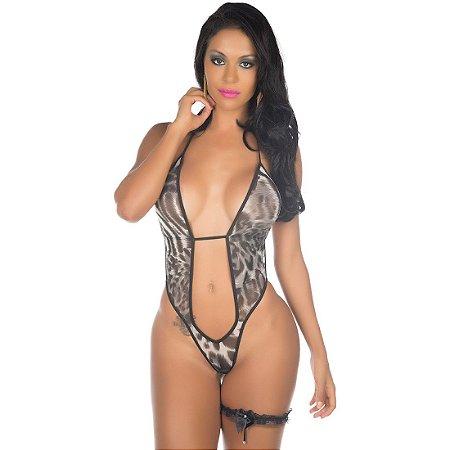 Kit Mini Fantasia Felina Pimenta Sexy - Sex shop