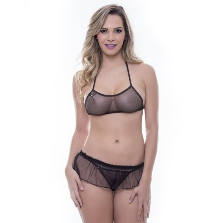 Kit Mini Fantasia Pantera Negra Sensual Love - Sexshop