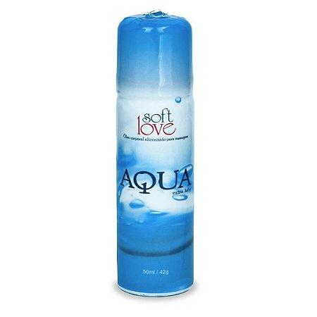 Lubrificante Aqua Extra Luby Óleo 50ml Soft Love - Sexshop